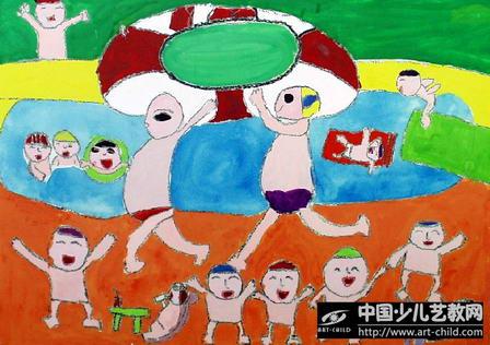 作品名称:  《快乐的假期》图片