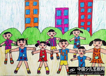 儿童水彩笔画大全