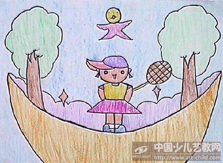 我的梦想幼儿简笔画-作品参赛详情 参赛查询 赛事中心 全息网
