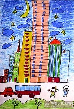 作品名称:  《我造的高楼》