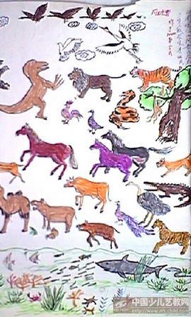 作品名称:  《动物世界》