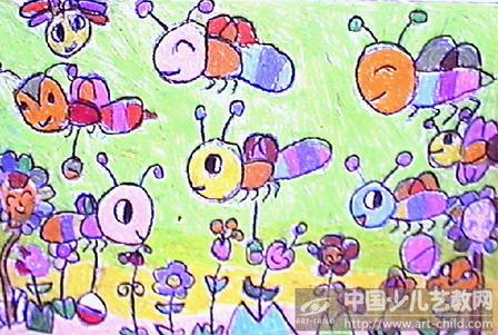 《小蜜蜂来采蜜》