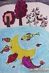 月亮和小鱼