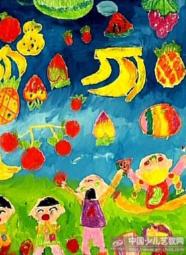 幼儿园作品老师的长发分享展示图片