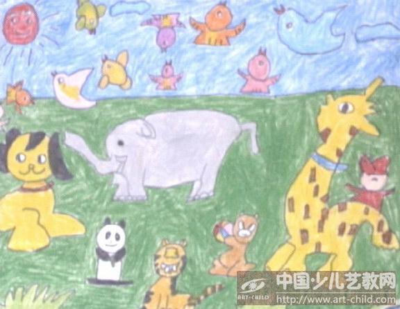 作品名称:  《动物世界》图片