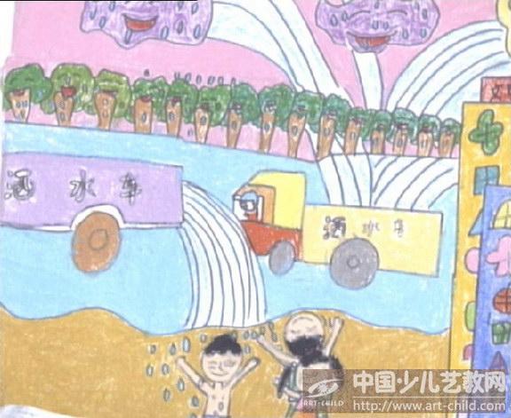 《环保洒水车》