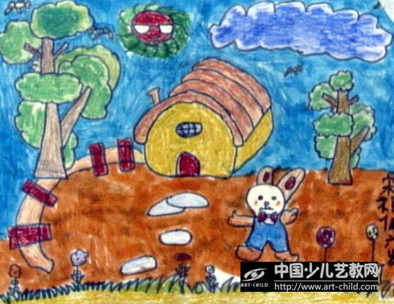 作品名称:  《小白兔的家》