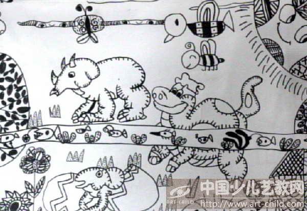 恐龙简笔画步骤动儿园