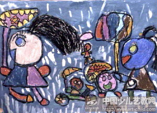 儿童画 600_432图片