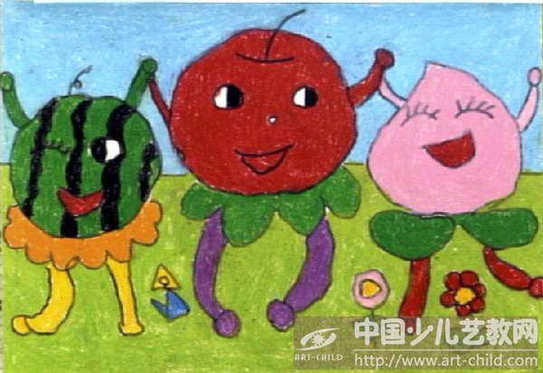 儿童画 600_413图片