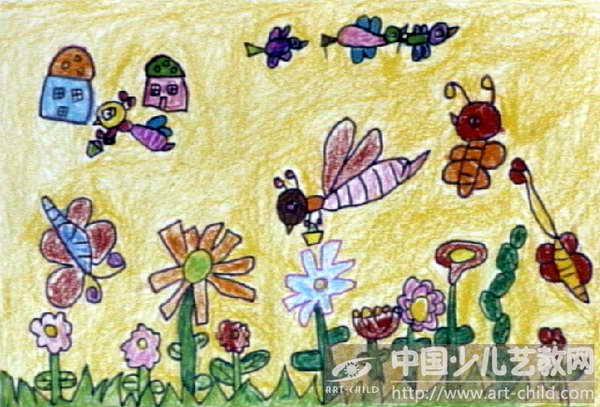 蜜蜂简笔画卡通蜜蜂简笔画 蜜蜂的画法简笔画图片