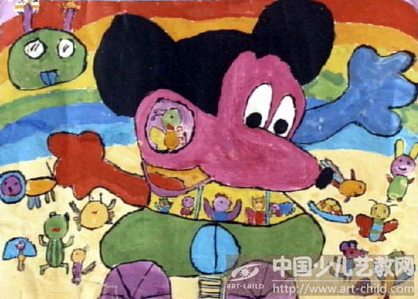 《米老鼠车》