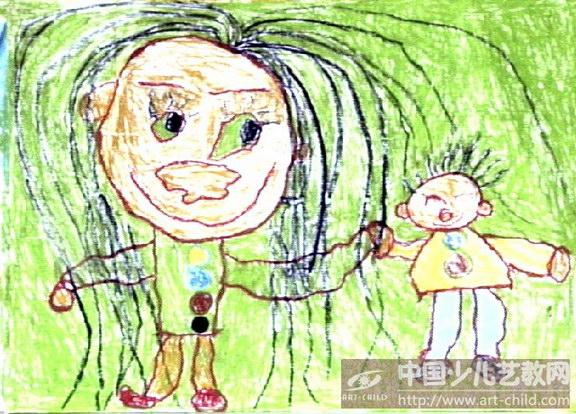 作品名称:  《我和长头发老师》图片