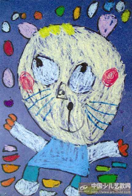作品名称:  《可爱的小猫》
