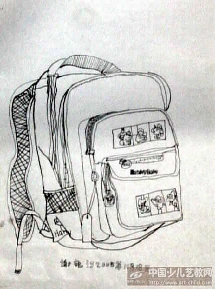 多功能书包绘画-作品参赛详情 参赛查询 赛事中心 全息网
