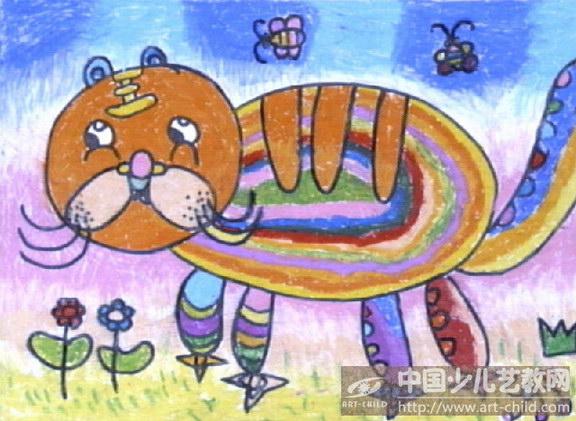 《可爱的老虎》