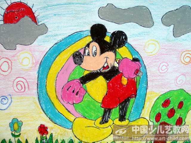 《画米老鼠》