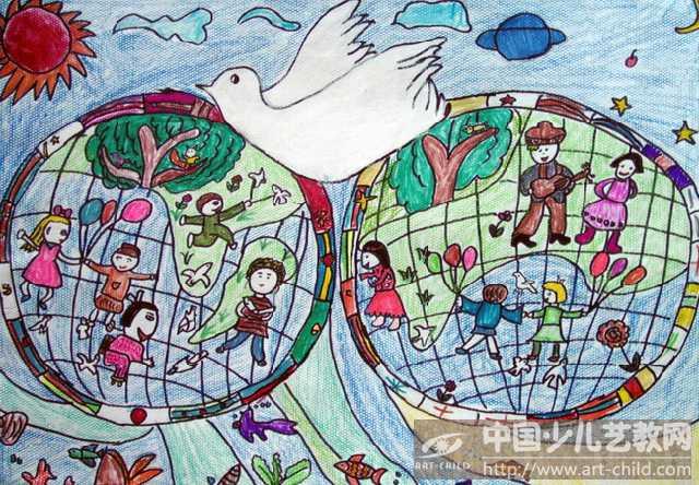 作品名称:  《世界和平》图片