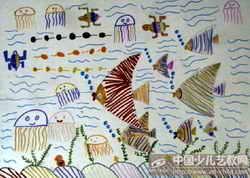 热带鱼群图片