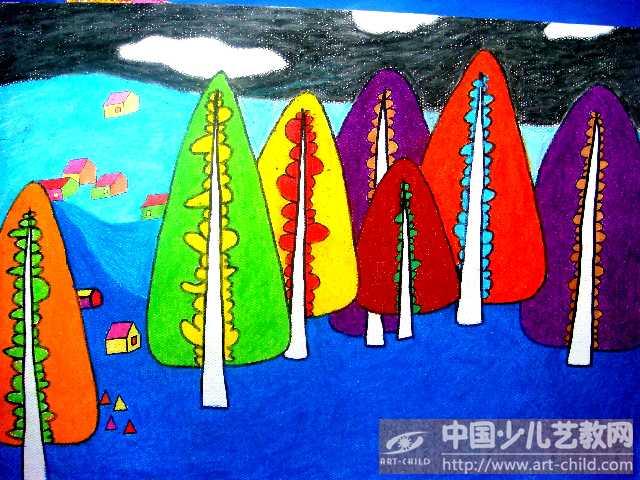 《秋天的树》