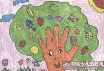 作品名称:  《手掌树》
