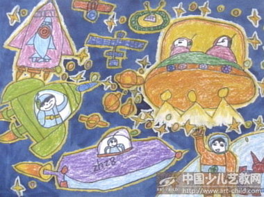 中国梦江西梦儿童画