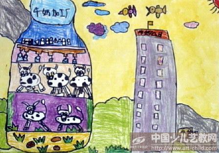 作品名称:  《牛奶加工厂》图片