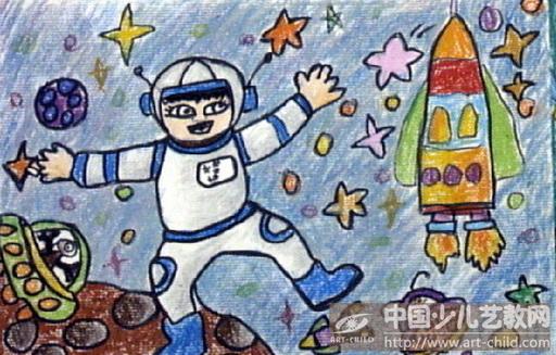 太空主题简笔画内容图片展示_太空主题简笔画图片下载图片