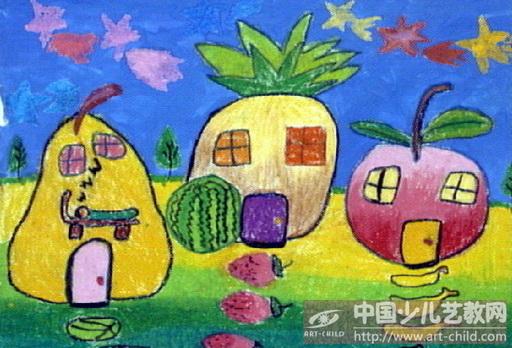 水果屋简笔画-作品参赛详情 参赛查询 赛事中心 全息网