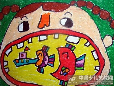 幼儿园卡通大嘴巴图片展示