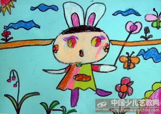 《爱跳舞的小白兔》