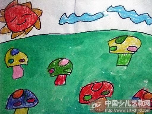三年级森林美术图画分享展示图片