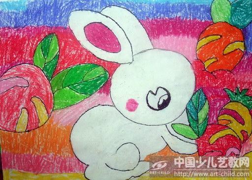 《小白兔拔萝卜》