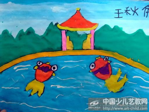 儿童画画大全金鱼