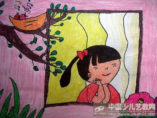 手绘唱歌男女人物图片铅笔画简笔画展示