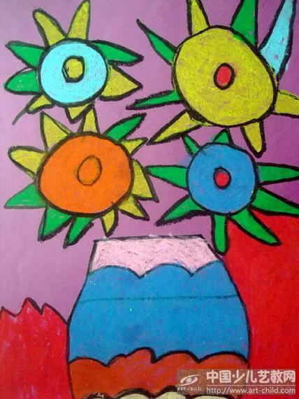 二年级美术 花瓶 图片展示图片