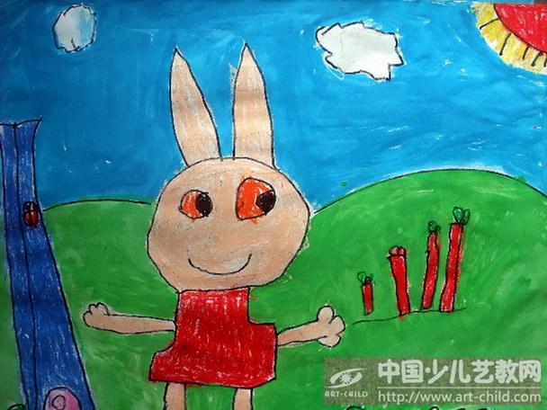 《小兔子吃萝卜》