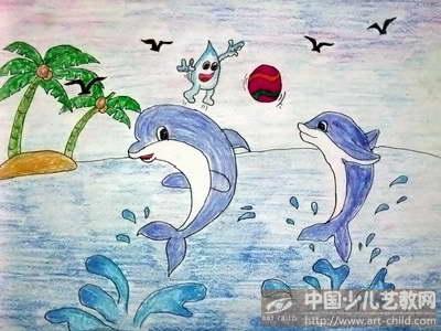 作品名称:  《小海豚》