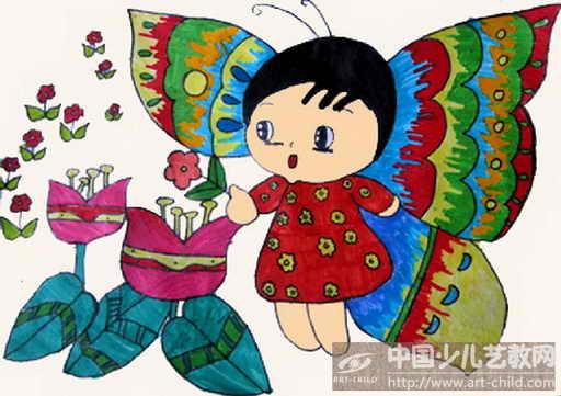 我的梦儿童图画