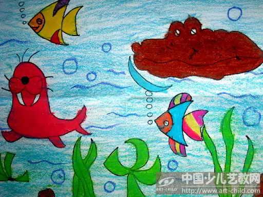 2014关于海洋动物的画关于海洋动物的画 海洋动物彩图片