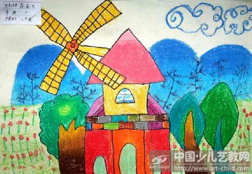 儿童画 512_353图片