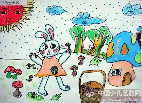 《小白兔采蘑菇》