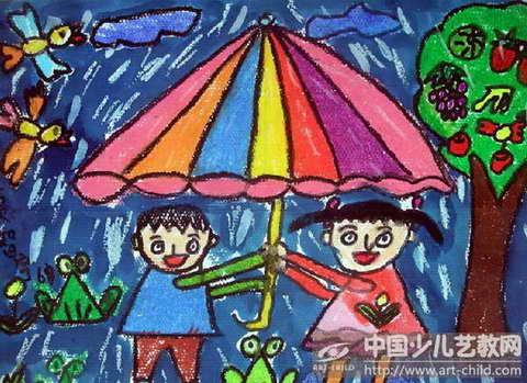 《哗啦啦,下雨了》图片