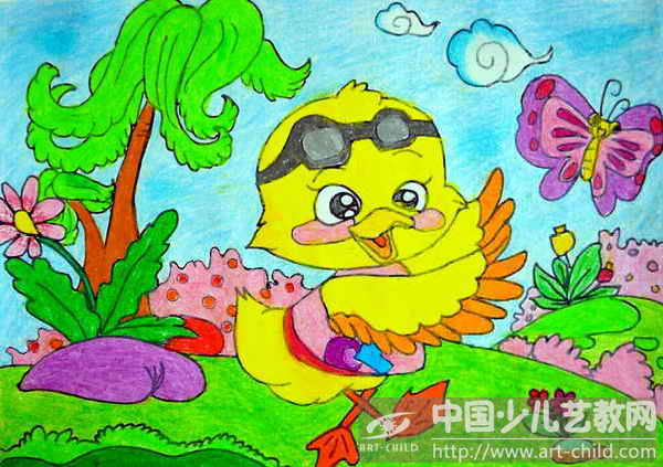 作品名称:  《快乐小鸭找朋友》