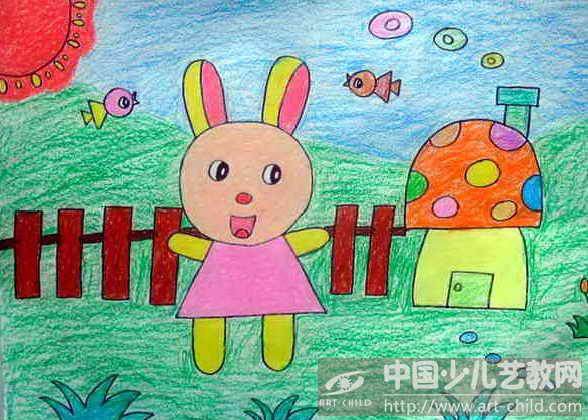 《可爱的小白兔》