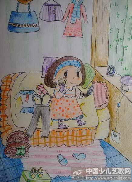 儿童画 436_600 竖版 竖屏