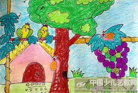 作品名称:  《蜗牛与黄鹂鸟》