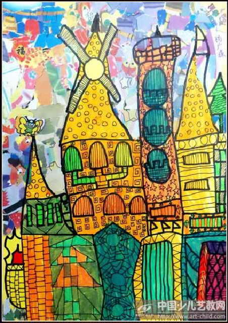 作品名称:  《美丽的城堡》图片