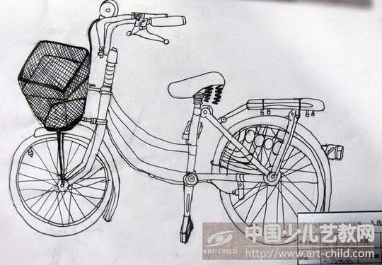 作品名称: 《自行车》