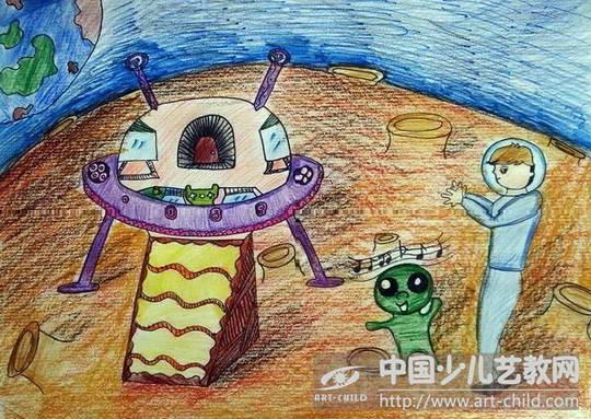 作品名称:  《中国制造—飞船》图片